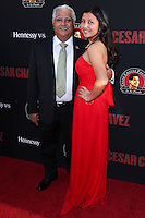 """HOLLYWOOD, LOS ANGELES, CA, USA - MARCH 20: Paul Chavez, Daniella Chavez at the Los Angeles Premiere Of Pantelion Films And Participant Media's """"Cesar Chavez"""" held at TCL Chinese Theatre on March 20, 2014 in Hollywood, Los Angeles, California, United States. (Photo by David Acosta/Celebrity Monitor)"""