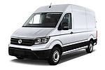 2017 Volkswagen Crafter Base 4 Door Cargo Van angular front stock photos of front three quarter view