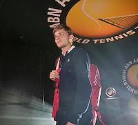 Februari 09, 2015, Netherlands, Rotterdam, Ahoy, ABN AMRO World Tennis Tournament, David Goffin (BEL)<br /> Photo: Tennisimages/Henk Koster