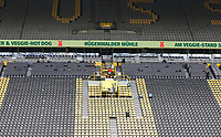 16th May 2020, Signal Iduna Park, Dortmund, Germany; Bundesliga football, Borussia Dortmund versus FC Schalke;  empty seats in the stands