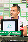 Betis player Kadir press conference at Benito Villamarin stadium in Seville, Spain. (ALTER PHOTOS/BOUZA PRESS/CARLOS BOUZA)