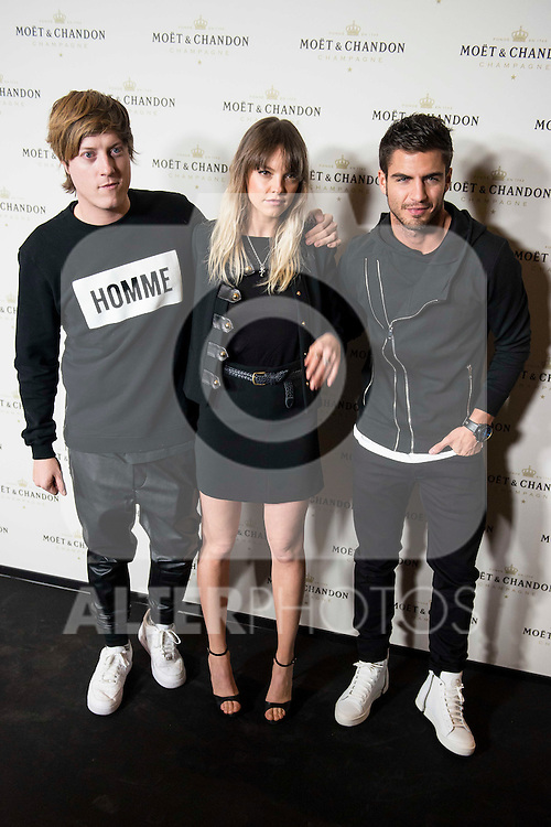 "Gerard Estadella and Maxi Iglesias attends to the photocall of the party ""OpenTheNow of Moët & Chandon in Madrid, December 02, 2015<br /> (ALTERPHOTOS/BorjaB.Hojas)"