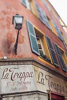 Europe/France/Provence-Alpes-Côte d'Azur/Alpes-Maritimes/Nice: Vieux Nice - Vieille enseigne // Europe, France, Provence-Alpes-Côte d'Azur, Alpes-Maritimes, Nice,  district Vieux Nice, old sign