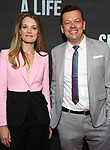 "Carrie Cracknell and Simon Stephens attend the Broadway Opening Night performance of ""Sea Wall / A Life"" at the Hudson Theatre on August 08, 2019 in New York City."