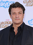 Nathan Fillion<br /> <br /> <br />  attends The Marvel Studios World Premiere GUARDIANS OF THE GALAXY held at The Dolby Theatre in Hollywood, California on July 21,2014                                                                               © 2014Hollywood Press Agency