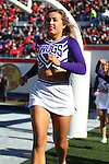 December 30, 2016: TCU cheerleaders after a TCU touchdown in the first half of the AutoZone Liberty Bowl inside Liberty Bowl Memorial Stadium in Memphis, Tennessee. ©Justin Manning/Eclipse Sportswire/Cal Sport Media
