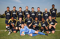 Old George FC of the Hackney & Leyton Sunday League pose for a team photograph at Hackney Marshes - 21/09/08 - MANDATORY CREDIT: Gavin Ellis/TGSPHOTO - Self billing applies where appropriate - Tel: 0845 094 6026
