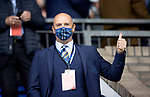 St Johnstone v Galatasaray…12.08.21  McDiarmid Park Europa League Qualifier<br />Thumbs-up from saints vice-Chairman Charlie Fraser<br />Picture by Graeme Hart.<br />Copyright Perthshire Picture Agency<br />Tel: 01738 623350  Mobile: 07990 594431
