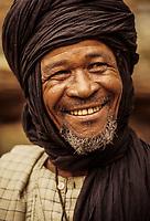 Smiling Nigerien Man, Baleyara, Niger.