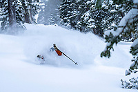 Cody Townsend finding peace and powder.