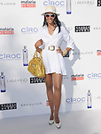 Angela Simmons  at The White Party presented by P-Diddy ,Ashton Kutcher & Malaria No More held at  private Estate in Cold Water Canyon, California on July 04,2009                                                                   Copyright 2009 Debbie VanStory / RockinExposures