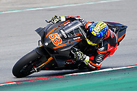 31st  March 2021; Barcelona, Spain; World Superbike testing at Circuit Barcelona-Catalunya;   Tito Rabat (ESP) riding Ducati Panigale V4 R for Barni Racing Team