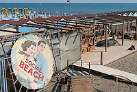 - Lido di Ostia, bathing establishment....- Lido di Ostia, stabilimento balneare