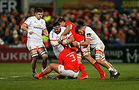 Friday 3rd January 2020 | Ulster Rugby vs Munster Rugby<br /> <br /> Marty Moore during the PRO14 Round 10 inter-pro clash between Ulster and Munster at Kingspan Stadium, Ravenhill Park, Belfast, Northern Ireland.  Photo by John Dickson / DICKSONDIGITAL