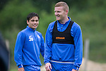 St Johnstone Training…22.07.16<br />Brian Easton pictured during training this morning at McDiarmid Park ahead of tomorrows Betfred Cup game against Falkirk.<br />Picture by Graeme Hart.<br />Copyright Perthshire Picture Agency<br />Tel: 01738 623350  Mobile: 07990 594431
