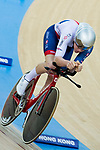 Matthew Bostock of the Great Britain team competes in the Men's Individual Pursuit - Qualifying as part of the 2017 UCI Track Cycling World Championships on 14 April 2017, in Hong Kong Velodrome, Hong Kong, China. Photo by Chris Wong / Power Sport Images