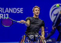 Rotterdam, Netherlands, December 12, 2017, Topsportcentrum, Ned. Loterij NK Tennis,  Wheelchair, Rody de Bie (NED)<br /> Photo: Tennisimages/Henk Koster