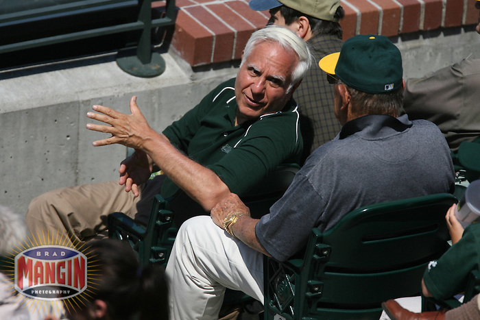 Owner Lew Wolff. Baseball: Oakland Athletics vs San Francisco Giants at AT&T Park in San Francisco, CA on June 25, 2006. Photo by Brad Mangin