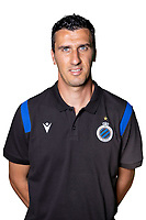 20th August 2020, Brugge, Belgium;  Maarten Martens pictured during the team photo shoot of Club Brugge NXT prior the Proximus league football season 2020 - 2021 at the Belfius Base camp