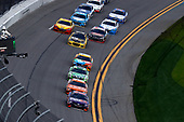2017 NASCAR Cup - Clash at Daytona<br /> Daytona International Speedway, Daytona, FL USA<br /> Sunday 19 February 2017<br /> Denny Hamlin, FedEx Express Toyota Camry, Daniel Suarez, ARRIS Toyota Camry, Matt Kenseth, DeWalt Toyota Camry<br /> World Copyright: Michael L. Levitt/LAT Images<br /> ref: Digital Image levitt-0217-D500_08704