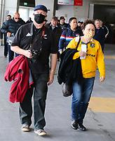 11th October 2020; Sky Stadium, Wellington, New Zealand;  Fans. New Zealand All Blacks v Australia Wallabies, 1st Bledisloe Cup rugby union test match