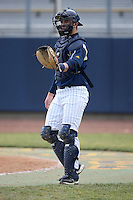 March 21, 2010: Joe Hudson of the Notre Dame Fighting Irish. Photo by: Chris Proctor/Four Seam Images