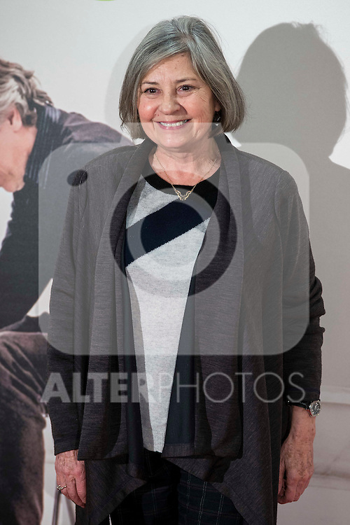 """Tina Sainz attends to the premire of the film """"Que fue de Jorge Sanz"""" at Cinesa Proyecciones in Madrid. February 10, 2016."""