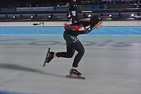 SCHAATSEN: AMSTERDAM: Olympisch Stadion, 09-03-2018, WK Allround, Coolste Baan van Nederland, 3000m Ladies Ivanie Blondin (CAN), ©foto Martin de Jong
