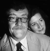 #KurtVonnegut #JillKrementz 1981<br /> Photo By Adam Scull/PHOTOlink.net
