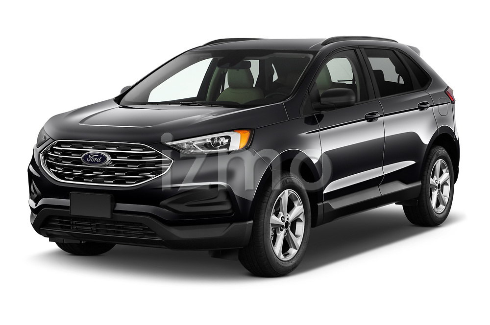 2020 Ford Edge SE 5 Door SUV Angular Front automotive stock photos of front three quarter view