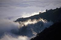 Europe/France/Aquitaine/64/Pyrénées-Atlantiques/Plateau d'Iraty: Aube sur les Pyrénées depuis le plateau