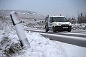 12/01/17<br />  <br /> A van drives along the A53 Axe Edge between Leek and Buxton  in The Derbyshire Peak District. <br /> <br /> All Rights Reserved F Stop Press Ltd. (0)1773 550665   www.fstoppress.com