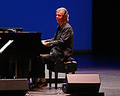 WEST PALM BEACH, FL - MAY 17: Chick Corea performs with Bela Fleck at The Kravis Center for the Performing Arts on May 17, 2019 in West Palm Beach Florida. Credit Larry Marano © 2019