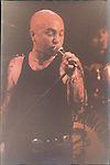 Angry Anderson of Rose Tattoo Angry Anderson, Rose Tattoo, Rainbow Theater 1981 London, England