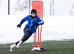 St Johnstone Training…<br />Glenn Middleton pictured during training ahead of Sundays game against Celtic.<br />Picture by Graeme Hart.<br />Copyright Perthshire Picture Agency<br />Tel: 01738 623350  Mobile: 07990 594431