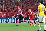 Shanghai FC Goalkeeper Yan Junling (L) in action during the AFC Champions League 2017 Round of 16 match between Shanghai SIPG FC (CHN) vs Jiangsu FC (CHN) at the Shanghai Stadium on 24 May 2017 in Shanghai, China. Photo by Marcio Rodrigo Machado / Power Sport Images