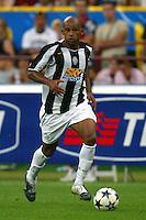 Milano 27/7/2004 Trofeo Tim - Tim tournament <br /> <br /> Oliveira Juventus<br /> <br /> <br /> <br /> Inter Milan Juventus <br /> <br /> Inter - Juventus 1-0<br /> <br /> Milan - Juventus 2-0<br /> <br /> Inter - Milan 5-4 d.cr - penalt.<br /> <br /> <br /> <br /> Photo Andrea Staccioli Insidefoto