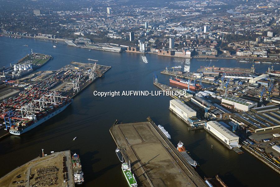 Vorhafen: EUROPA, DEUTSCHLAND, HAMBURG 26.12.2014 Vorhafen