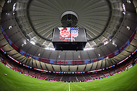 Vancouver, Canada - Thursday November 09, 2017: USWNT vs Canada at BC PLACE during an International friendly match between the Women's National teams of the United States (USA) and Canada (CAN) at BC Place.