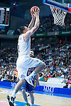 Real Madrid's Maciulis during the first match of the playoff at Barclaycard Center in Madrid. May 27, 2016. (ALTERPHOTOS/BorjaB.Hojas)