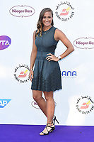 Monica Puig<br /> arriving for the Tennis on the Thames WTA event in Bernie Spain Gardens, South Bank, London<br /> <br /> ©Ash Knotek  D3412  28/06/2018