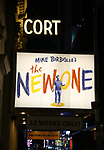"""Theatre Marquee for """"The New One"""" on BROADWAY"""
