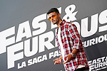 Spanish singer Abraham Mateo during the photocall for the 'Fast & Furious 9' Madrid Premiere. June 17, 2021. (ALTERPHOTOS/Acero)
