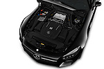 Car Stock 2017 Mercedes Benz AMG-GT - 3 Door Coupe Engine  high angle detail view