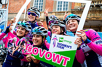 Picture by Alex Whitehead/SWpix.com - 16/06/2018 - Cycling - 2018 OVO Energy Women's Tour - Stage 4, Evesham to Worcester - Valcar Pbm.