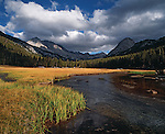 McClure Meadow, (elevation 9650) Kings Canyon National Park.John Muir Trail/Pacific Crest Trail