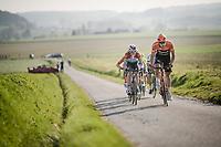 Stijn Steels (BEL/Roompot - Charles) <br /> <br /> 62nd E3 BinckBank Classic (Harelbeke) 2019 <br /> One day race (1.UWT) from Harelbeke to Harelbeke (204km)<br /> <br /> ©kramon