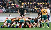 11th October 2020; Sky Stadium, Wellington, New Zealand;  All Black's Jordie Barrett. Bledisloe Cup rugby union test match between the New Zealand All Blacks and Australia Wallabies.