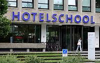 Nederland - Amsterdam -  2020.     Amsterdam West. Hotelschool The Hague.  Foto : ANP/ Hollandse Hoogte / Berlinda van Dam