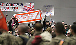 More than 300 members of the 422nd Expeditionary Signal Battalion of the Nevada National Guard returned home Sunday, Jan. 15, 2012, after a yearlong deployment to Afghanistan. Hundreds of family and friends greeted the soldiers at the Nevada Air Guard Base in Reno, Nev..Photo by Cathleen Allison